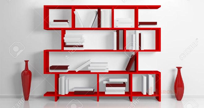 Rak Buku Modern dan Elegant untuk Perpustakaan Pribadi di Rumah